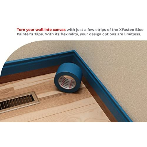16f847522e5 well-wreapped XFasten Professional Blue Painters Tape