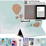 Artyond Kindle Paperwhite Case, The Thinnest and Lightest PU Leather Case with Auto Wake/Sleep Feature Smart Cover for Amazon Kindle Paperwhite (Fits All 2012, 2013, 2015 and 2016 Versions) (Balloon)