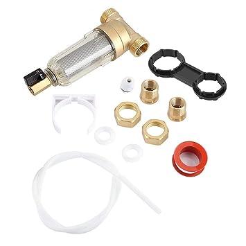 Gire hacia abajo el filtro de agua de sedimento purificador de agua central de toda la casa tubos prefiltro central descalcificaci/ón