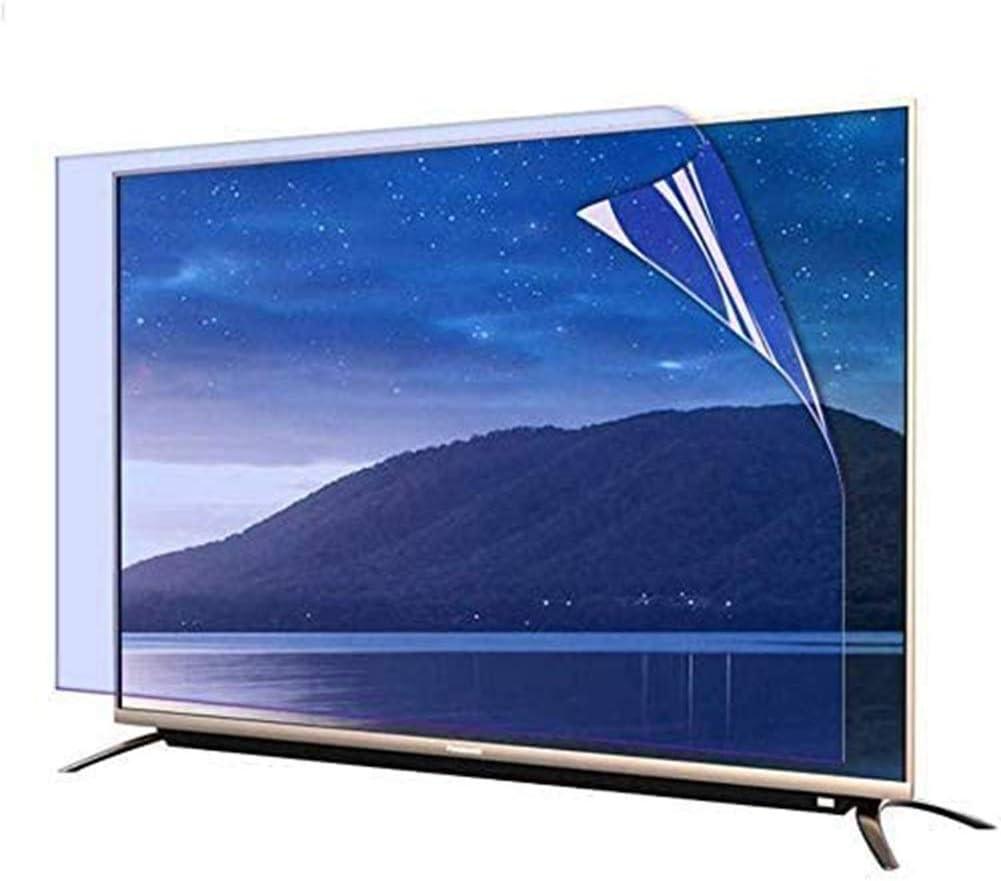YSHCA 48-50 Pulgadas Protector De Pantalla De TV, Anti Luz Azul TV Protección de Pantalla Antirreflejos Filtro De Luz Alivia La Fatiga Ocular, para HDTV LCD/LED/OLED,50Inch/ 1095x616mm: Amazon.es: Hogar