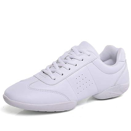 ef82d51a952c Mrh.Dar Aerobics Shoes Children Fitness Gymnastics Sports Dance Shoes Jazz  Sneakers Cheerleading Shoes Woman