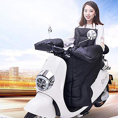 benefit-X Electric Scooter Windshield, Leg Lap Apron Cover Motorcycle Warm Knee Pads Leg Cover, Seat Covers, Vehicle Covers, Waterproof, Thick, for Winter Scooter Riding