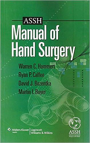 Green Hand Surgery Book