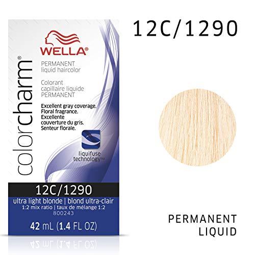 WELLA Color Charm Permanent Liquid Hair Color, Light Blondes