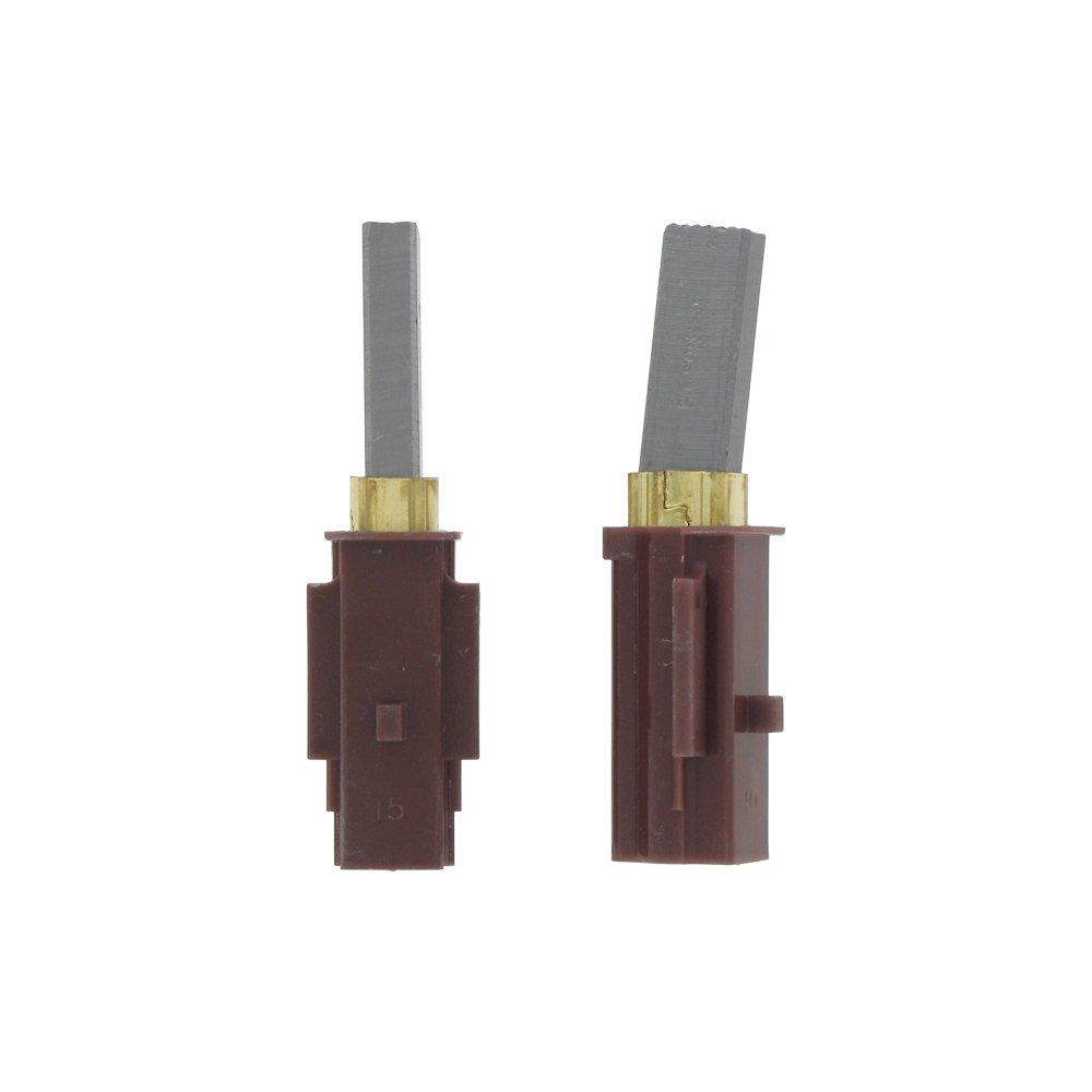 Ametek - Confezione di 2 spazzole al carbonio Ametek originali per motori di 10, 9/12, 1/14, 4 cm da 220/240 V Maddocks 12-LB-05