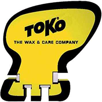 One Size TOKO Unisexs Scraper World Cup Sharpener Yellow