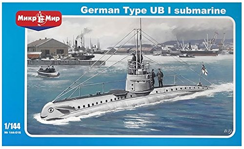 AVIS 1/35 第一次世界大戦 ドイツ軍 UボートUB-1型 プラモデル AV14116