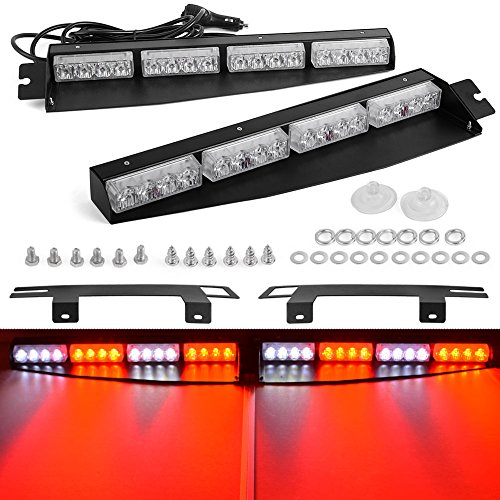 Emergency Led Visor Lights