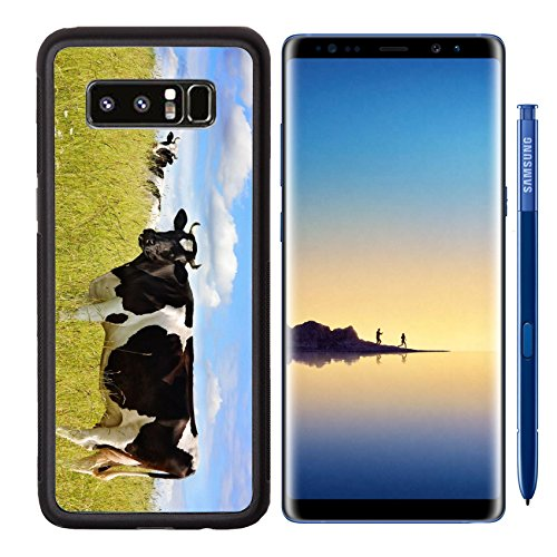 - MSD Samsung Galaxy Note 8 Aluminum Backplate Bumper Snap Case cow on the meadow Image 5173169 Customized Tablemats Stain Resistance Collector Kit Kit