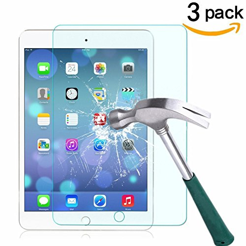 Tempered Glass Screen Protector for Apple iPad Mini 1/2/3 (Clear) - 9