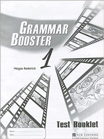 GRAMMAR BOOSTER 1 TEST BK