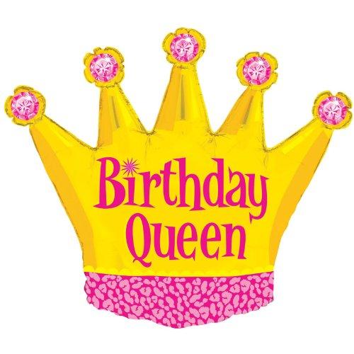 Mayflower Distributing Birthday Queen Balloon product image