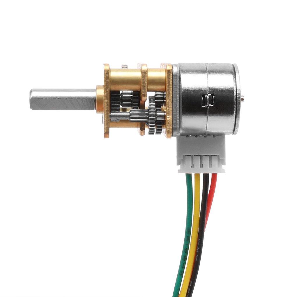 Amazon.com: GM1024BY10-10D 5V 5RPM/7RPM/10RPM/30RPM/50RPM/150RPM Torque Gear Motor DC Electronic Reduction Motor Regard: Home Improvement