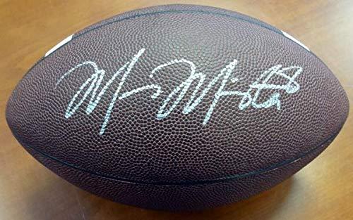Sale!! Marcus Mariota Autographed Brown Nike Logo Football Oregon Ducks MM Holo Stock #87158 - Autographed College (Nike Autograph Football)