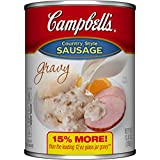#1: Campbell's Gravy, Country Style Sausage, 13.8 Ounce (Packaging May Vary)