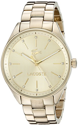 Lacoste Women's 2000898 Philadelphia Analog Display Japanese Quartz Gold Watch