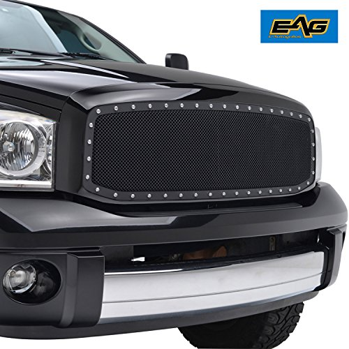 EAG Wire Mesh Front Grille Insert for 06-09 Dodge Ram (2500 Grille)