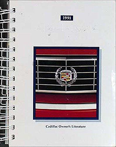 1991 Cadillac Allante Original Owner's Manual 91