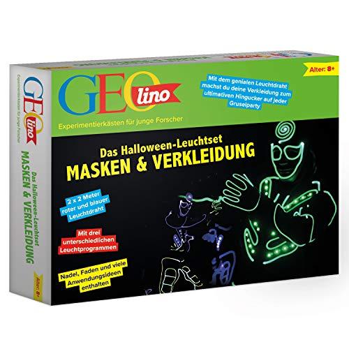 GEOlino Das Halloween-Leuchtset Masken und Verkleidung: Mit dem genialen Leuchtdraht ....