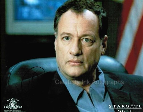 JOHN DE LANCIE as Colonel Frank Simmons - Stargate - SG-1 Genuine Autograph from Celebrity Ink