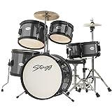 Stagg TIM JR 5/16 BK 5 Piece Junior Drum Kit, Black