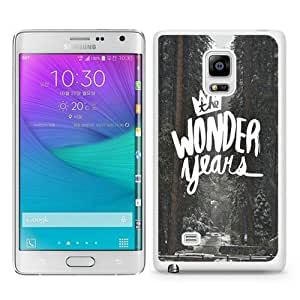 Samsung Galaxy Note Edge Case ,Fashion And Unique Designed Samsung Galaxy Note Edge Case With Wonder Years White Hight Quality Cover