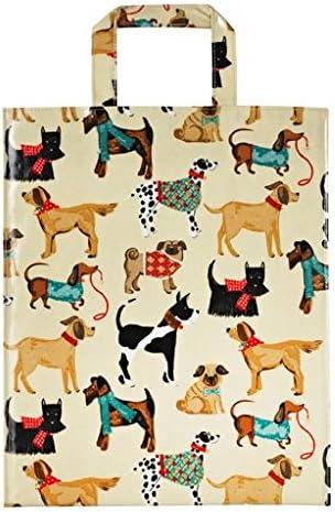 Taz/ón de porcelana china con dise/ño de perros de Ulster Weavers multicolor Medium