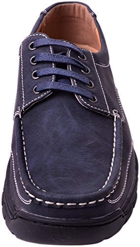 Mens Smart / Casual / Summer Lace Up Boat / Deck Shoes / Loafers Navy 5lJ9D6k