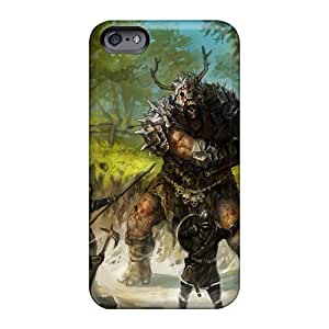 Anti-Scratch Hard Cell-phone Cases For Apple Iphone 6 Plus (Uof10041MEYi) Support Personal Customs Realistic Monster Hunter Series