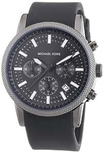 MICHAEL KORS MK8241 - Reloj analógico de cuarzo para mujer con correa de silicona, color gris