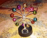 Hofumix Asteroid Perpetual Motion Toy Desk Toys with Revolving Balance Colorful Balls