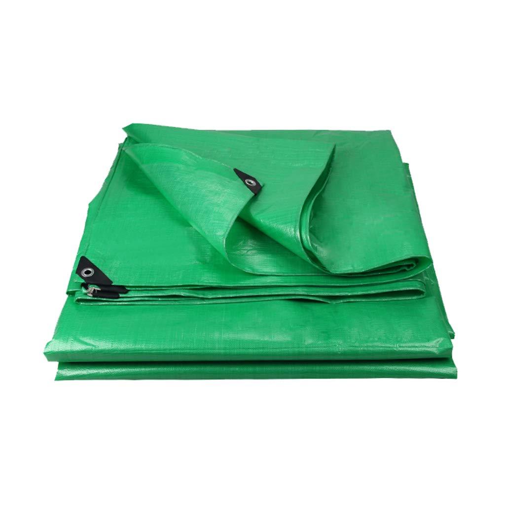 YEIUY Imprägniern Sie Sonnenschutz-Regenabdeckung der Plane grünen im Freien Starke Dichte Webart, Sonnenschutzponcho-Segeltuch, im Garten arbeitenfischenmatte, Multi-Größe