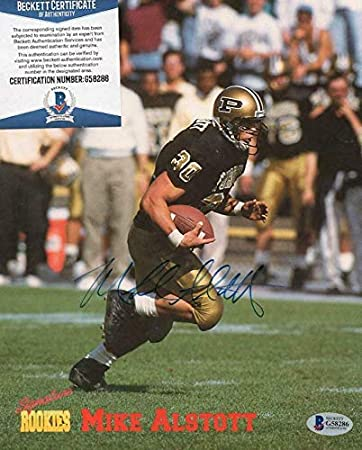 Autographed Mike Alstott Photo - Rookies 8x10 Beckett G58286 - Beckett  Authentication - Autographed College Photos at Amazon s Sports Collectibles  Store 9eeaa4745