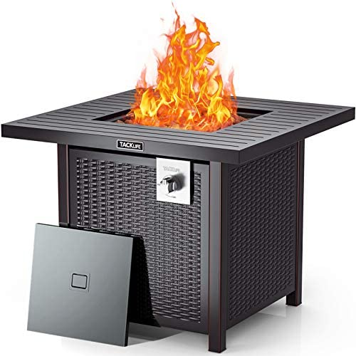 TACKLIFE 2021New 31.2in Propane Gas Fire Table