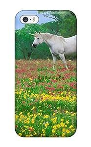 Alex Perez Riva's Shop Hot 9302542K62276710 Iphone 5/5s Hybrid Tpu Case Cover Silicon Bumper Magic Horses