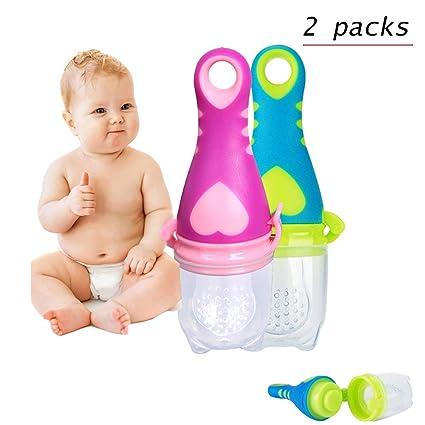 HBIAO Alimentador de Alimentos para bebés, Nuevo bebé ...