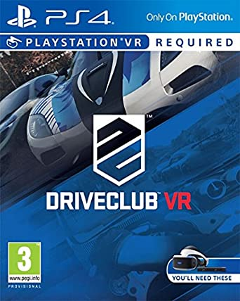 Juego Videoconsola Ps4 Driveclub Vr Amazon Co Uk Pc Video Games
