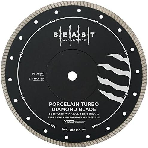 Lackmond Beast Pro Hard Porcelain Turbo Saw Blade - 7