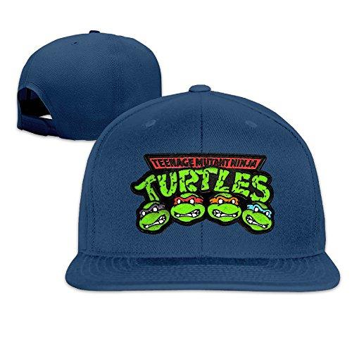 Teenage Mutant Ninja Turtles Big Face Snapback Hat Sports Flat-along Cap (Ninja Turtles Face)