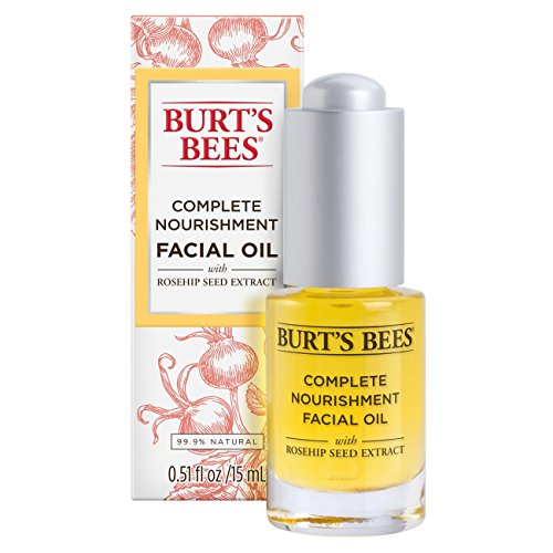 Burt's Bees Complete Nourishment Facial Oil, 0.51 Ounces
