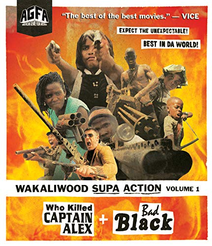 Wakaliwood Supa Action Volume 1: Who Killed Captain Alex? + Bad Black [Blu-ray]