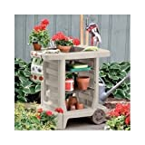 Generic ard Utilitych Cart Ro Gardening Storage Portable Potting Tools Outdoor Bench Cart Rolling Yard Utility Portable Potting Bench Ca
