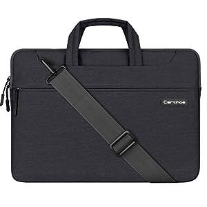 13.3 Inch Laptop Bag, Cartinoe Lightweight Laptop Shoulder Bag Messenger Bag Briefcase Sleeve Case for MacBook Air 13/ Mac Pro 13 Retina/ Surface Book / Lenovo Asus Dell HP Samsung Acer Chromebook 13