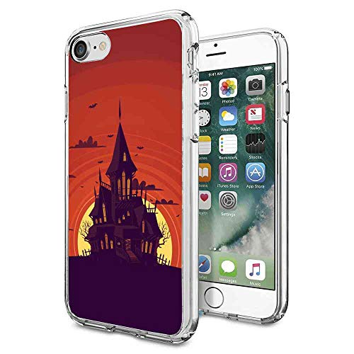 Haunted Manor Compatible with iPhone 8 (2017), iPhone 7 (2016) 4.7inch Upgraded -
