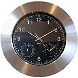 Eddingtons Weather Station Wall Clock