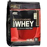Whey Protein Gold Standard 100% 2,88kg (6,35 Lbs) Chocolate - Optimum Nutrition Sabor: Chocolate Flavor