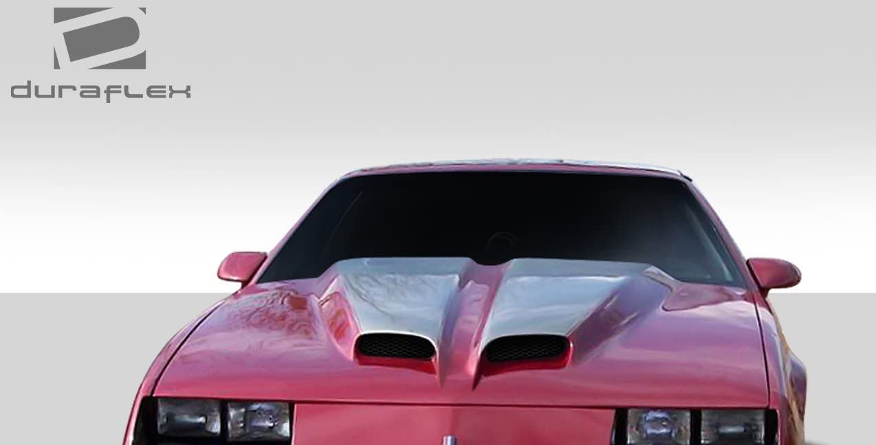 Extreme Dimensions Duraflex Replacement for Universal WS6 Look Hood Cowl Scoop Vent 1 Piece