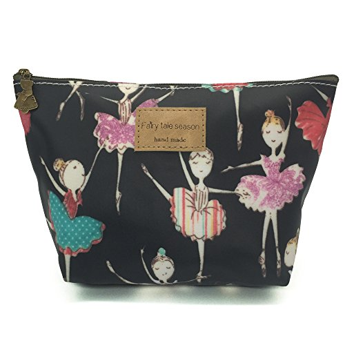(HUNGER Ballet Girl Make-Up Cosmetic Tote Bag Carry Case , 14 Patterns)