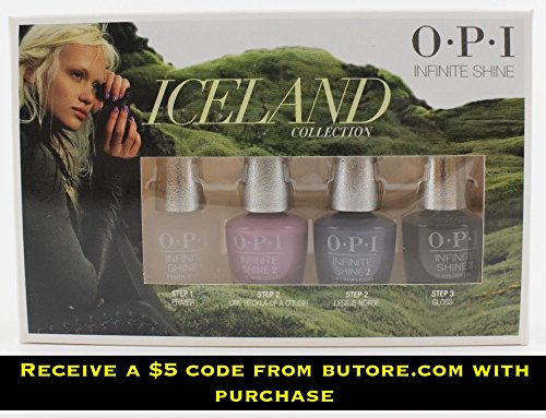 Iceland Collection 4 pc Mini Infinite Shine Lacquer +$5 Coupon - Vouchers Gift Chanel