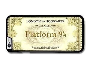 "AMAF ? Accessories Harry Potter Hogwarts Express Platform 9 3/4 Ticket case for iPhone 6 Plus (5.5"")"